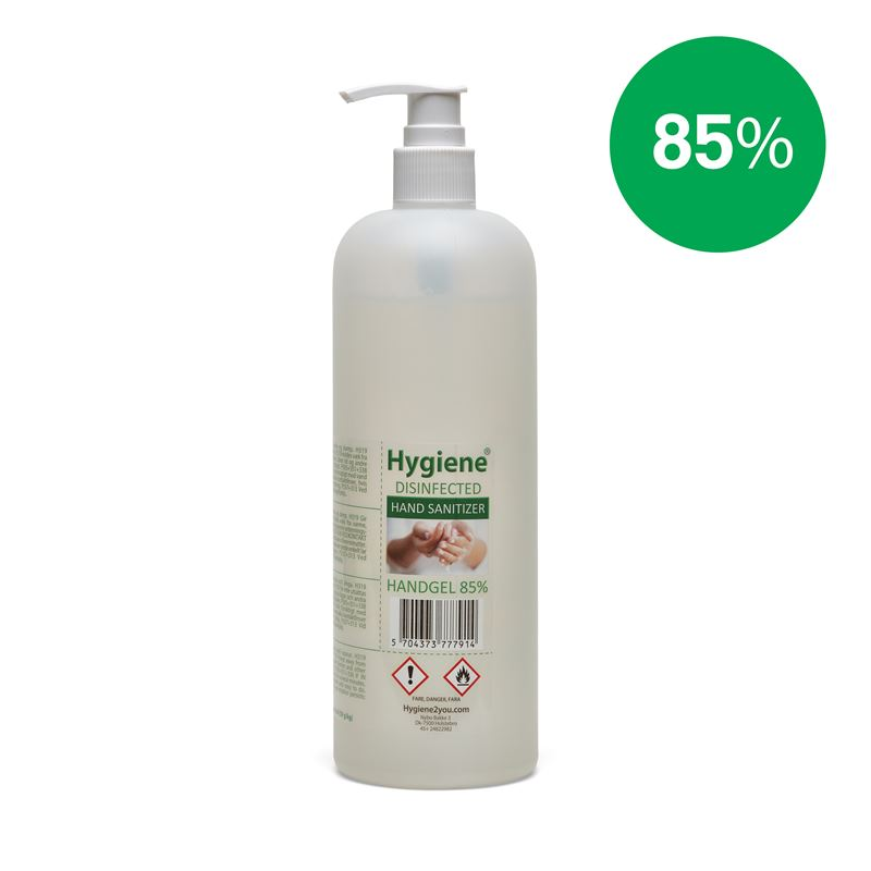 Hånddesinfektion Gel 85% - 500 ml.
